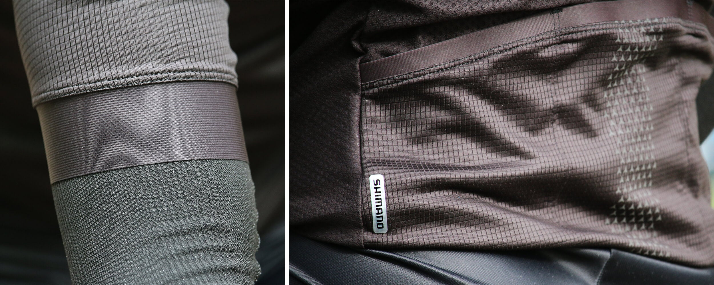 Shimano S-Phyre Cycling Jersey Detail - Contender Bicycles