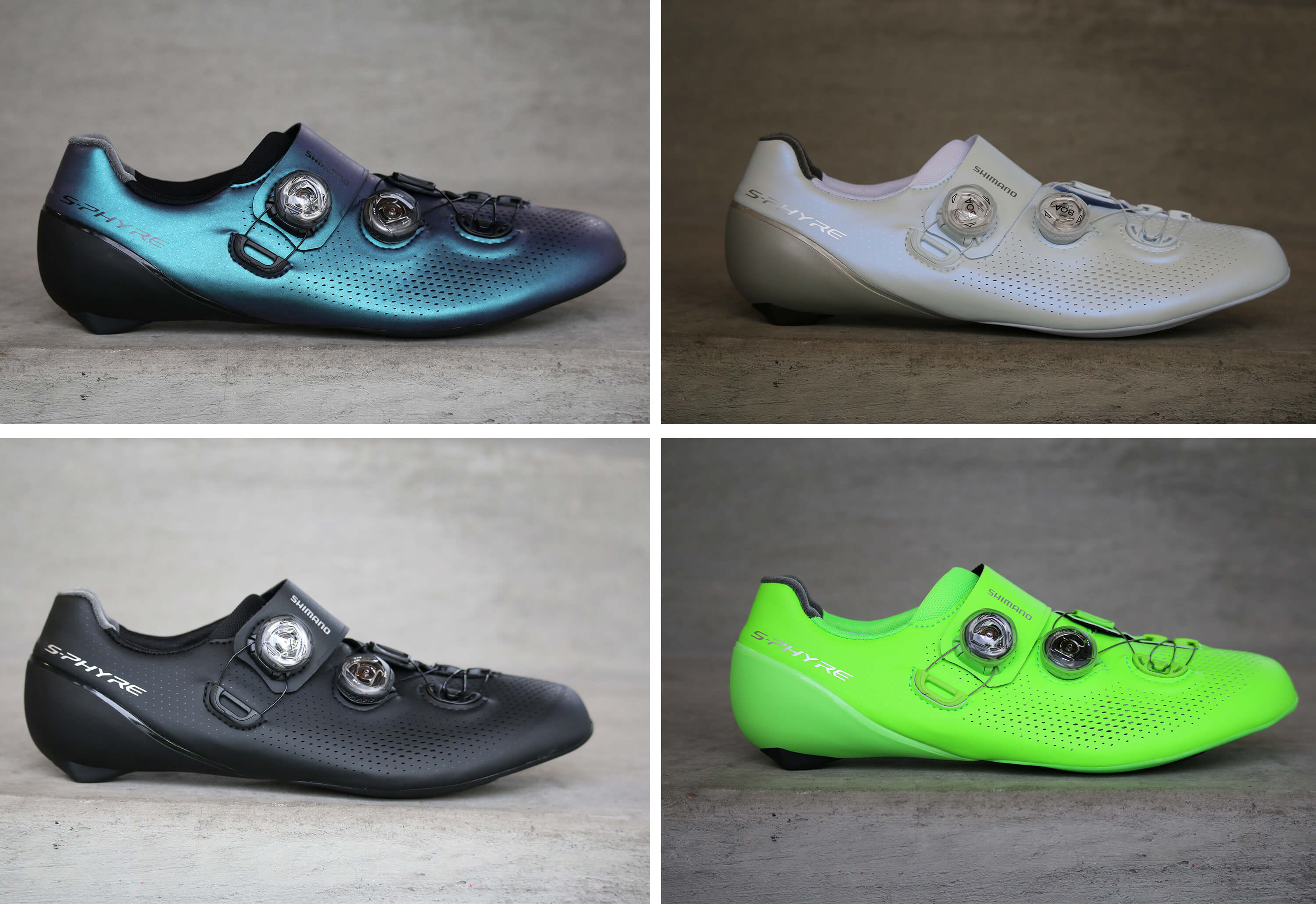Shimano S-Phyre RC901 Colors - Contender Bicycles