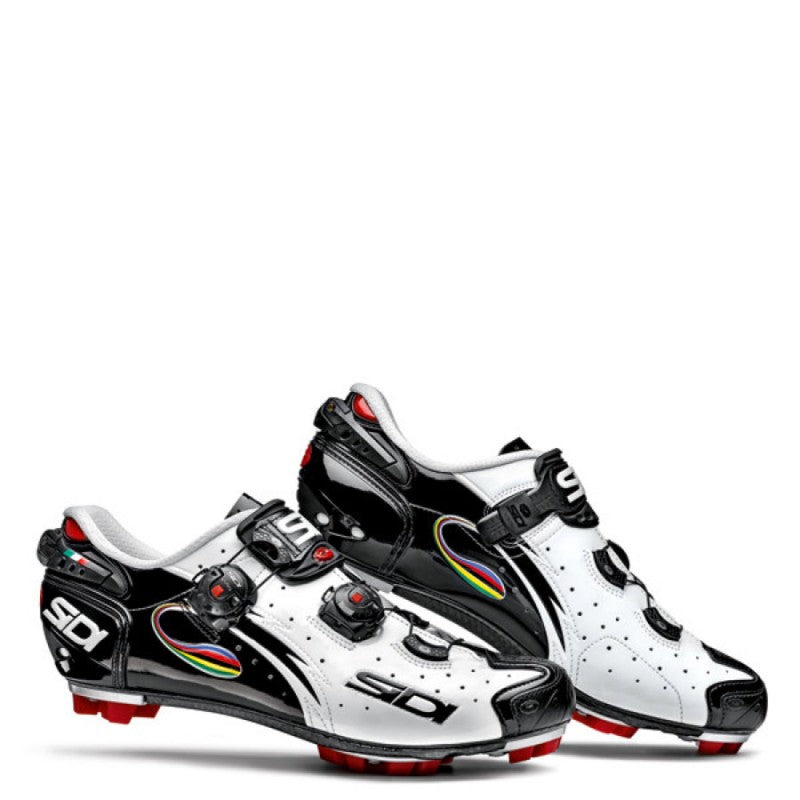Sidi Drako SRS Mountain Shoe black white iride