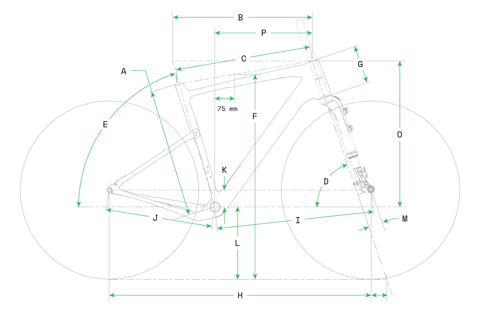 Cannondale topstone carbon Geometry Image
