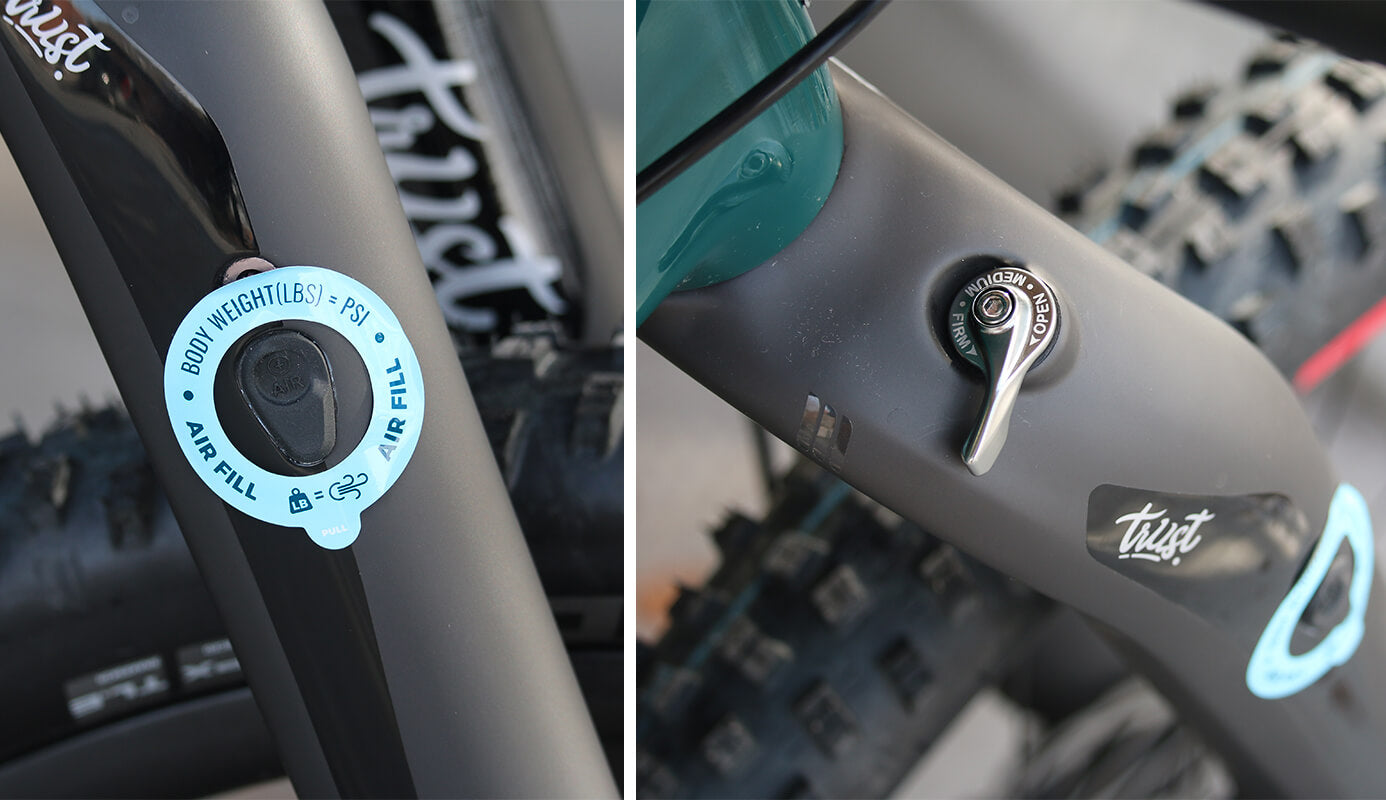 Trust Performance Message Suspension Fork Adjustments - Contender Bicycles