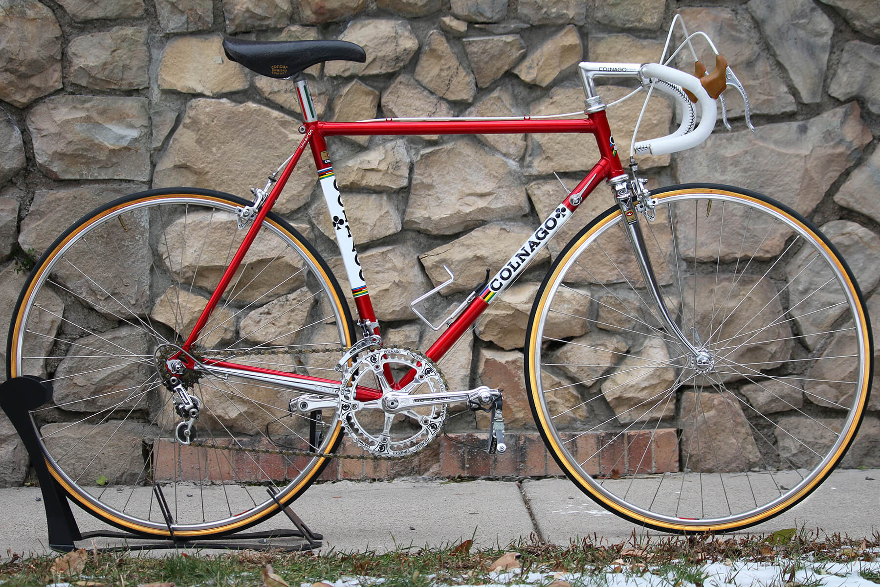 Vintage Colnago Italian Road Bike - Contender Bicycles
