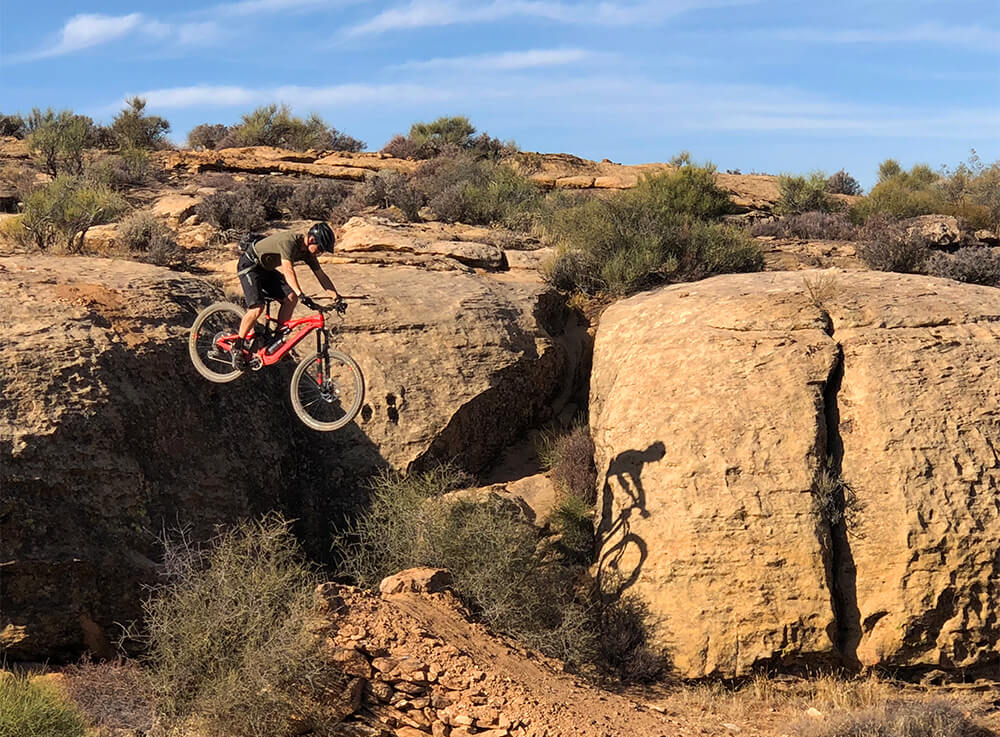 Orbea Rallon M10 Southern Utah. Contender Bicycles.
