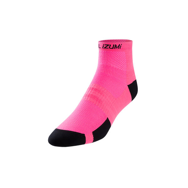 Pearl Izumi Women's Elite Low Sock PI Core Screaming Pink