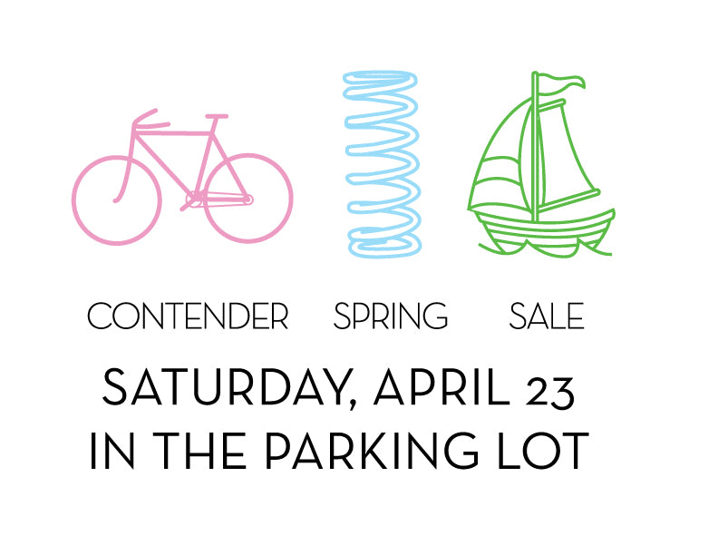 Spring Parking Lot Sale