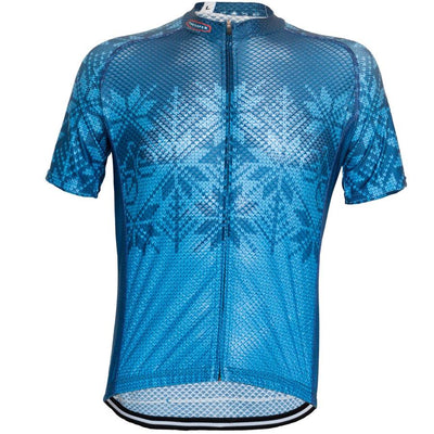 Contender Bicycles Knit Jersey Blue