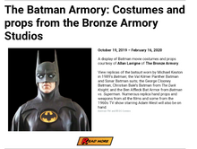 Load image into Gallery viewer, Batman '89 Crime Fighting Set