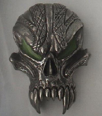 Spawn Demon Head buckle