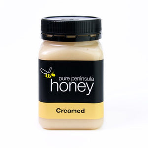 500gm Jar Creamed Honey - Pure Peninsula Honey