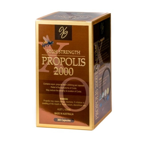 Propolis 2000 Capsules - Pure Peninsula Honey