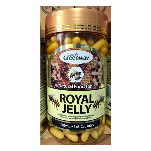 Royal Jelly Capsules 1000mg - Pure Peninsula Honey