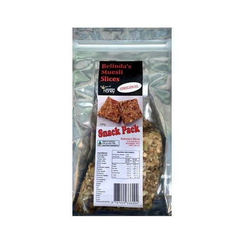 Load image into Gallery viewer, Muesli Slices Snack Pack 200g