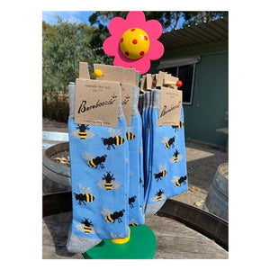 Load image into Gallery viewer, Socks - Bumble Bee Women's 2-8 - Pure Peninsula Honey