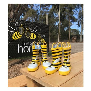 Gumboots, size 12 - Pure Peninsula Honey