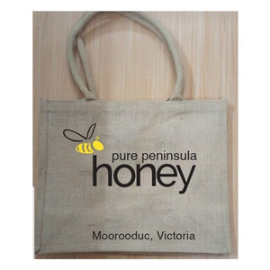 Load image into Gallery viewer, Jute PPH Bag - Pure Peninsula Honey