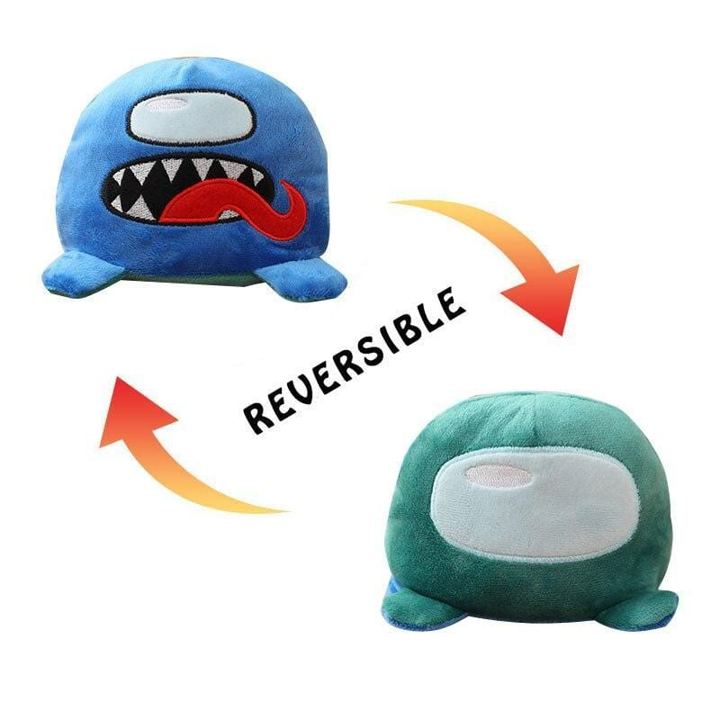 Peluche Among Us Reversible