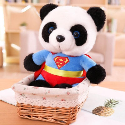 Peluche Panda Superman