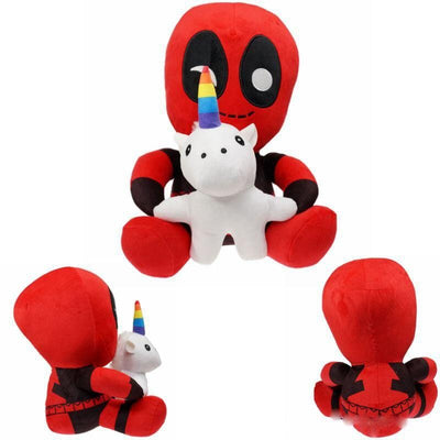 peluche unicornio deadpool fortnite