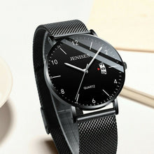 Load image into Gallery viewer, JENISES Luxury Waterproof Men's Ultra-Thin Stainless Steel Slim Quartz Watch