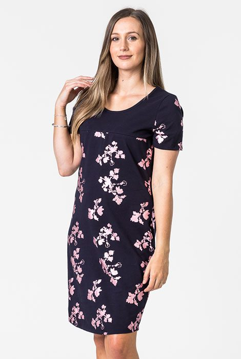 floral printed breastfeeding dress