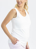 Stretch Rib Breastfeeding Singlet