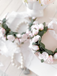 'Forever' Mommy & Me Flower Crown Set