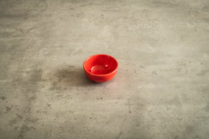 Red Snack Bowls
