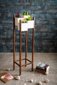 Wooden Planter Indoor Stand