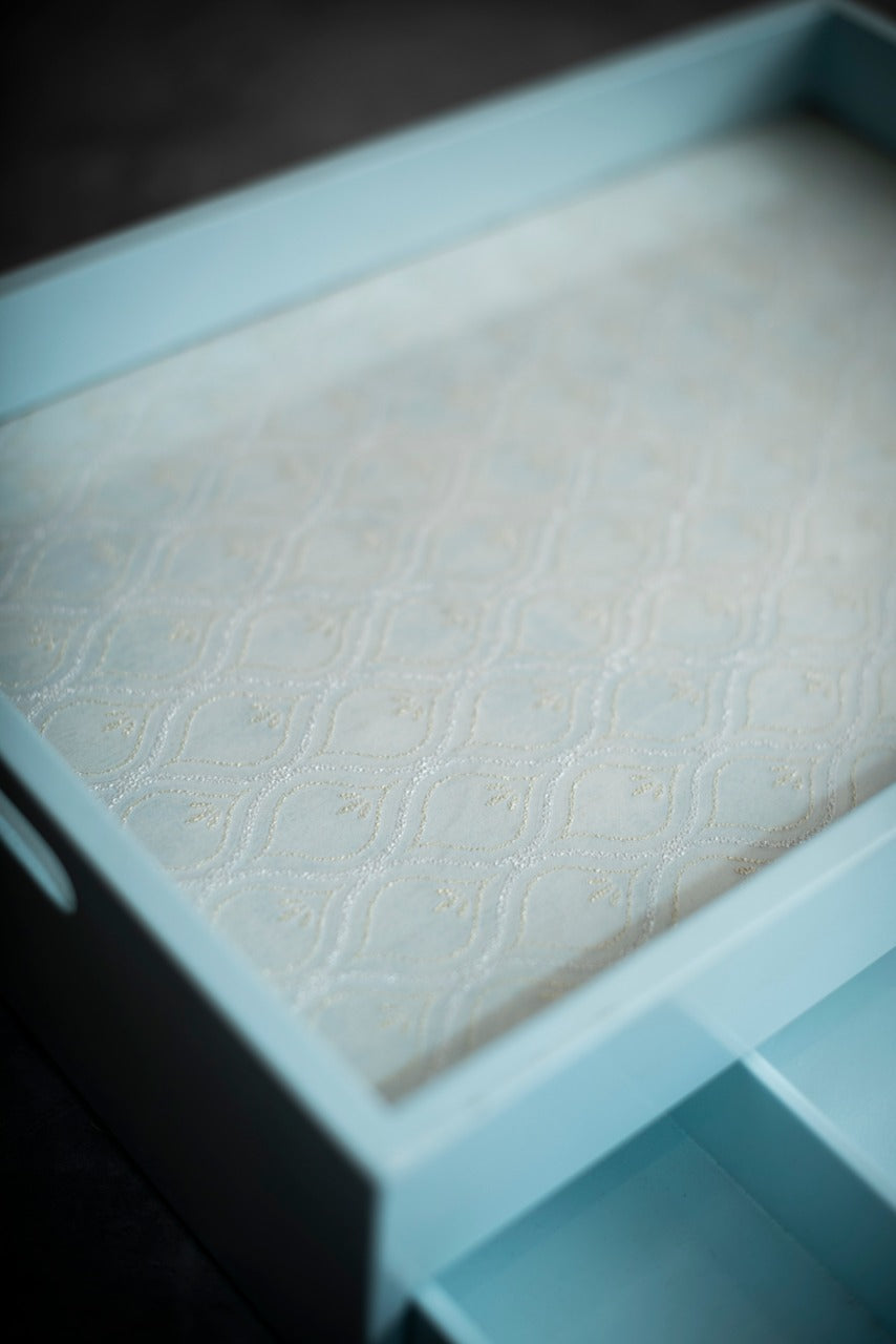 A Tiny Mistake Pastel Blue Drawer Tray