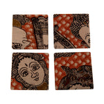Load image into Gallery viewer, Set of 4 Coasters, Table Accessory