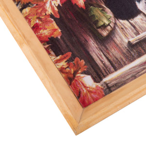 Wooden Tray, Decoupage Tray, Serving Tray