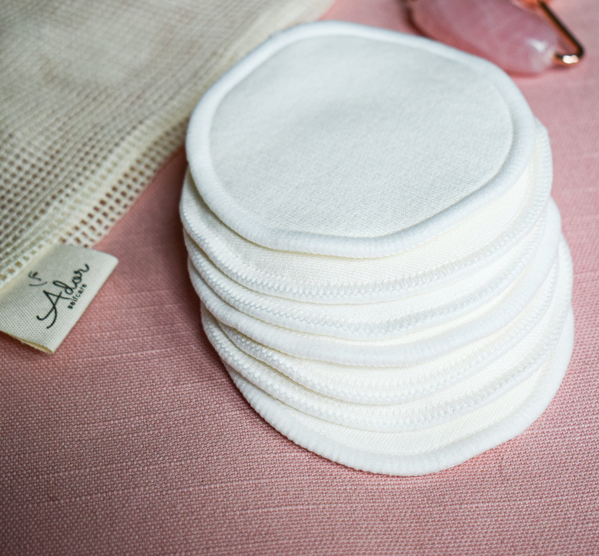 Bamboo Reusable Make up Remover Pads - AdorSelfcare