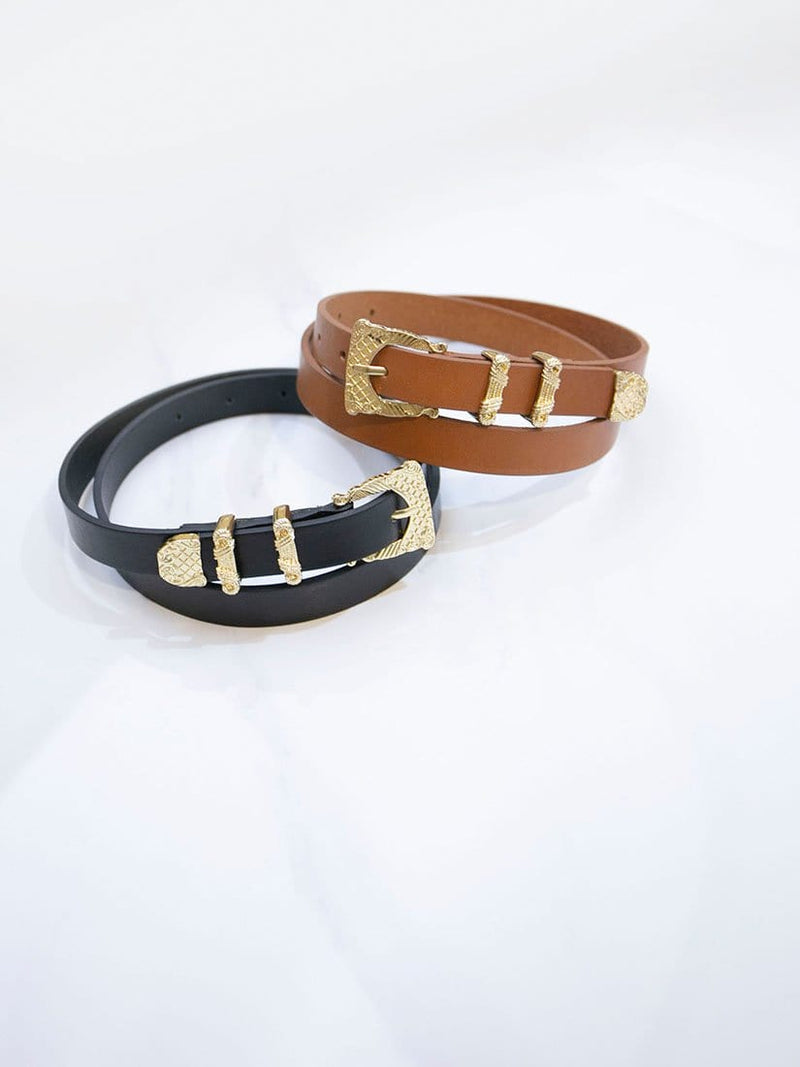 Golden Classical Buckle Belt - WHY NOT?