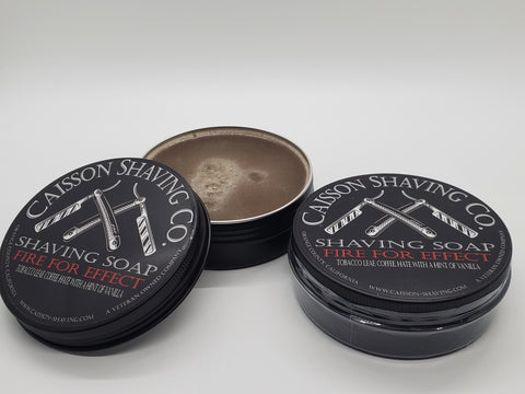 Fire for Effect Shave Soap