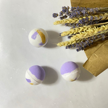 Load image into Gallery viewer, Livconsciously: Bath Bomb - Mint Lavender