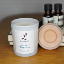Load image into Gallery viewer, Livconsciously: Scented Candle - Lavender Bergamot