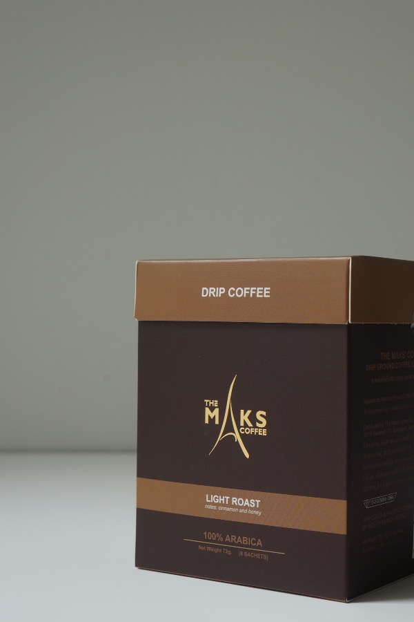 Maks' Coffee: Drip (Light Roast)