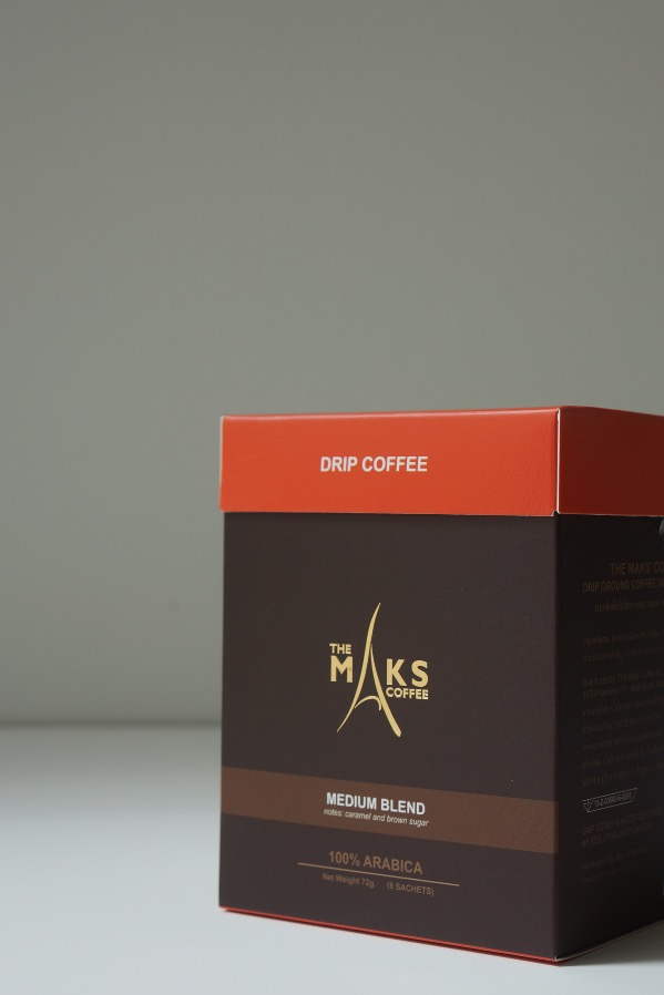 Maks' Coffee: Drip (Medium Blend)