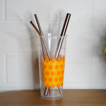 Load image into Gallery viewer, Maks' Coffee: Reusable Straw Kits