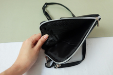 Load image into Gallery viewer, Mori: Dual Zip Detachable Sling Bag