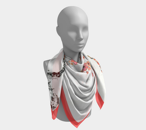 Open image in slideshow, Square Silk Scarf