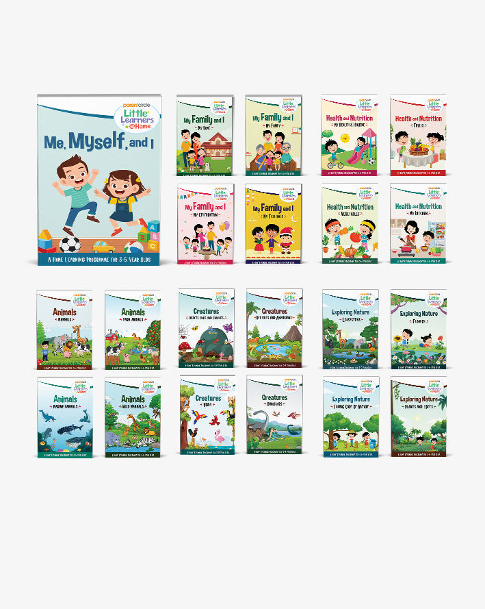 Little Learners@Home Book Series: The Big Bundle
