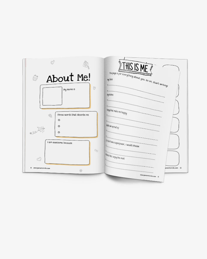 Happy Me Journal : A Bullet Journal for 9-16 Year Olds