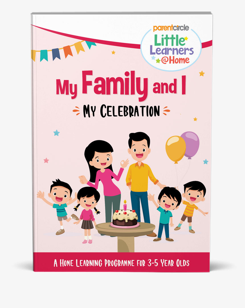 My Celebrations Activity Book for 3-5 Year Olds