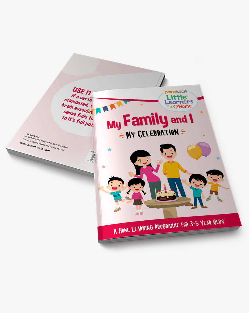 Little Learner@Home Book Series: My Family and I (Book 4) - My Celebrations