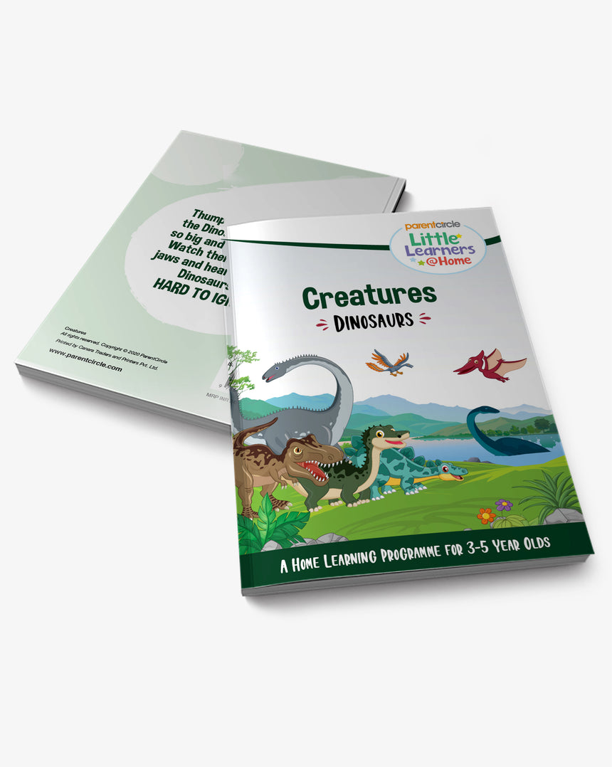 Dinosaurs Activity Book for 3-5 Year Olds
