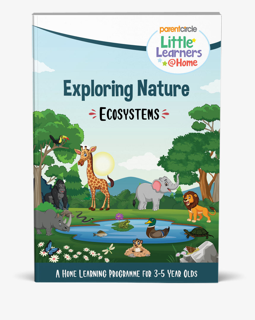 EcoSystems Activity Book for 3-5 year olds