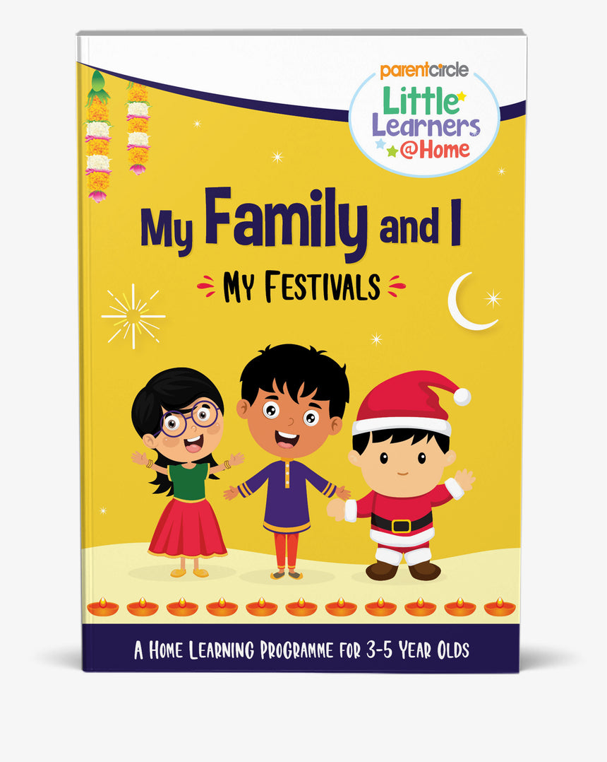 My Festivals Activity Book for 3-5 Year Olds