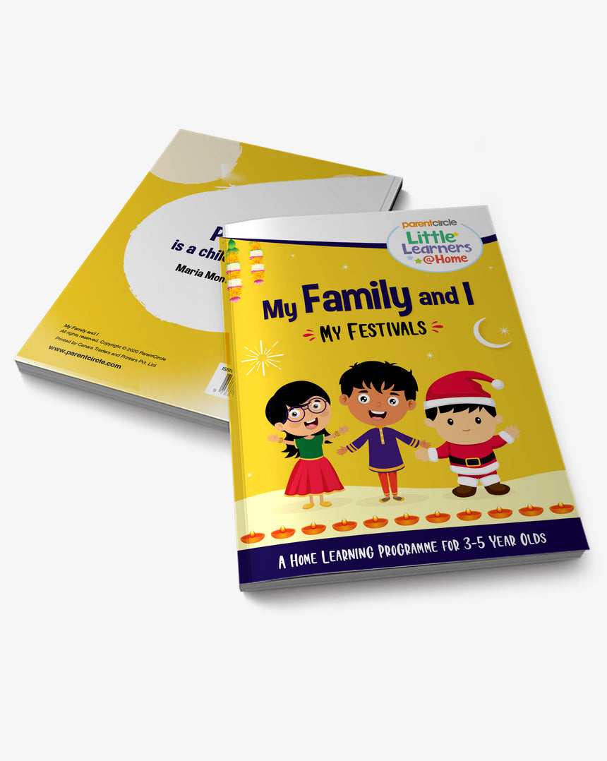 Festivals Activity Book for 3-5 year olds