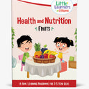 Fruits Activity Book for 3-5 year olds
